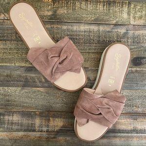 Seychelles   Coast Tan Platform Sandals - 8.5